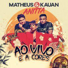 Capa-Ao Vivo E A Cores (Feat Anitta)
